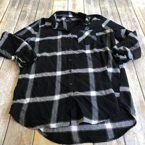 Free Press Flannel Sleep Shirt